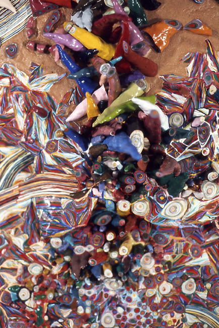 Tumbled Colors - detail