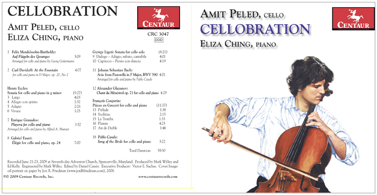 Amit Peled, Cellobration (2009) CD Cover Art.jpg