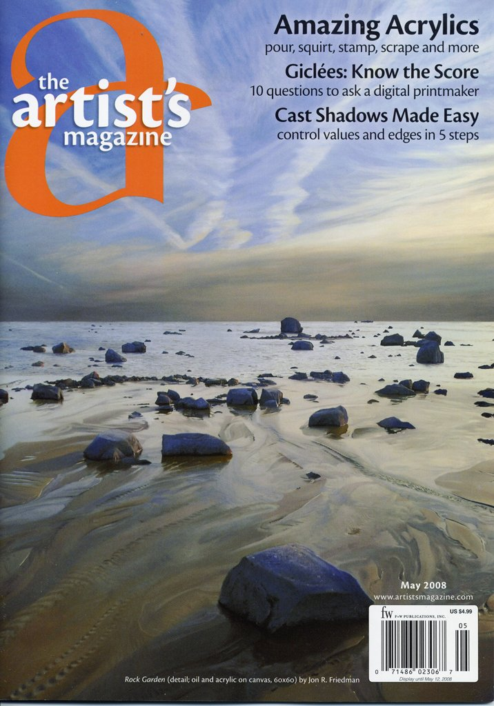 The Artist's Magazine, May 2008 cover