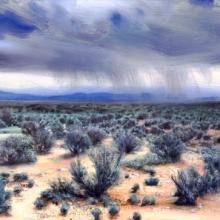 493 Storm Clouds & Sagebrush