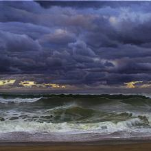 874 Clouds & Surf, Ballston Beach