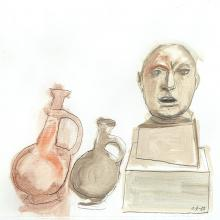 2405A King Ben and the Amphora Court, Study #1