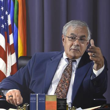 Barney Frank, Chairman of the Financial Services Committee of the U.S. House of Representatives 2007-2011.