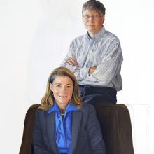 2002 Bill & Melinda Gates, Color Study #1