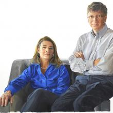 2003 Bill & Melinda Gates, Color Study #5