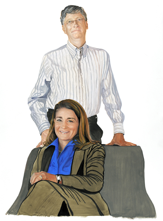 2008 Bill & Melinda Gates, Color Study #7