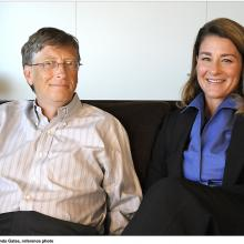 2018 Bill & Melinda Gates, reference photo