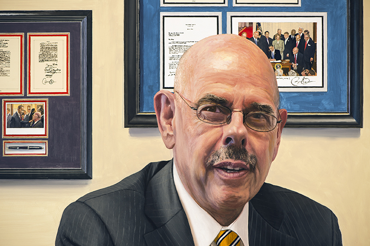 2206dtl-1 Henry Waxman Energy & Commerce Committee Portrait