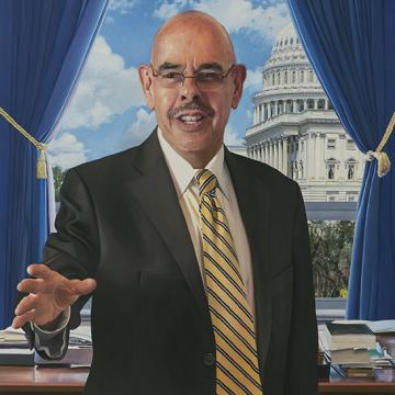 Henry Waxman U.S. House of Representatives Government Oversight Committee Portrait