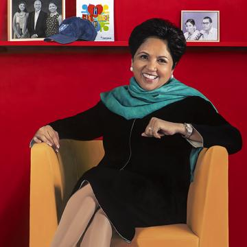 Indra Nooyi Chairman of the Board and CEO of PepsiCo from 2006 - 2019.
