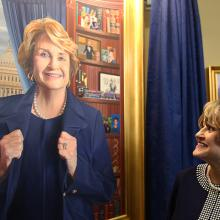 2190 Presentation of Louise Slaughter's portrait in the Chamber of the House Rules Committee-1