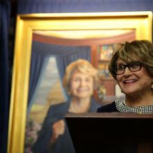 2190 Presentation of Louise Slaughter's portrait in the Chamber of the House Rules Committee-2
