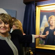 2190 Presentation of Louise Slaughter's portrait in the Chamber of the House Rules Committee-4