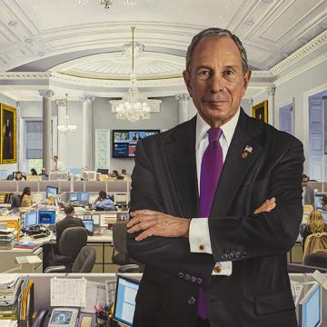 Michael Bloomberg, 108th Mayor of New York City, 2001-2013.