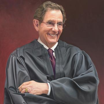 Ray Clevenger, Judge on the U.S. Court of Appeals for the Federal Circuit.