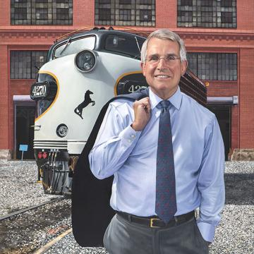 Wick Moorman, CEO of Norfolk Southern Corporation