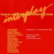 Interplay, November-December 1985, exhibition catalogue