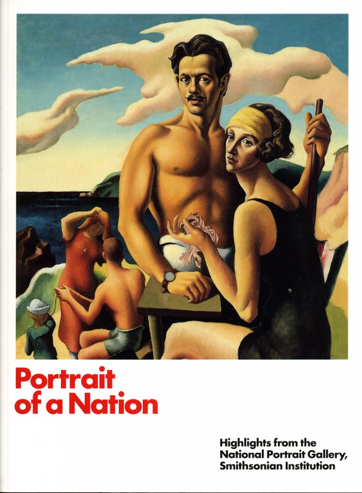 Portrait of a Nation, Hightlights from the National Portrait Gallery, Cover